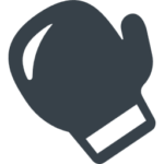 Boxing glove free icon 1